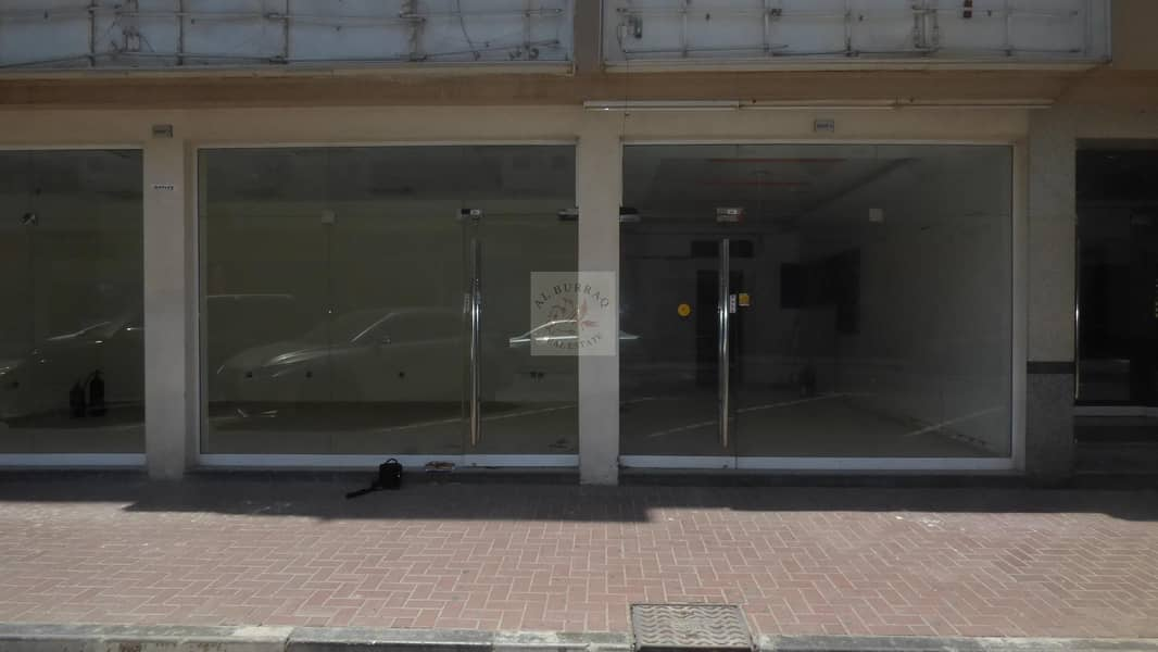 Front Shops available for Rent in Karama