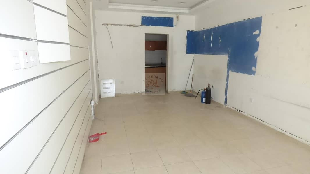 2 Front Shops available for Rent in Karama