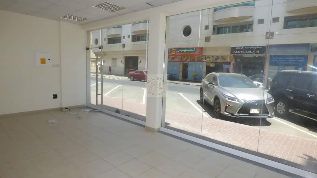 12 Front Shops available for Rent in Karama