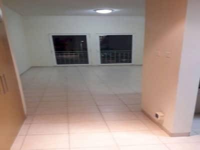 Large Studio with Balcony. 10 Wardrobes. Net size 550 Sqft