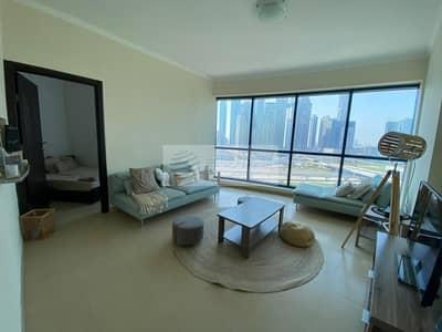 Studio for Rent in Jumeirah Lake Towers (JLT), Dubai - Enormous Furnished Studio Converted to One-Bedroom