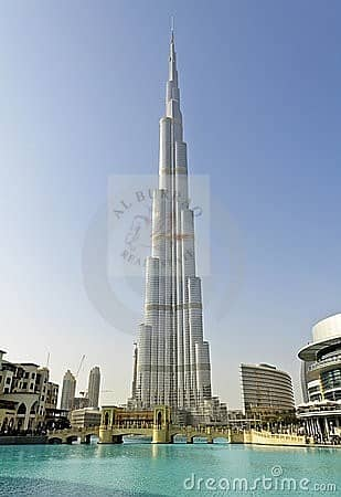 LARGE 2 bed plus study or maid in Burj Khalifa fountain view furnished and unfurnished