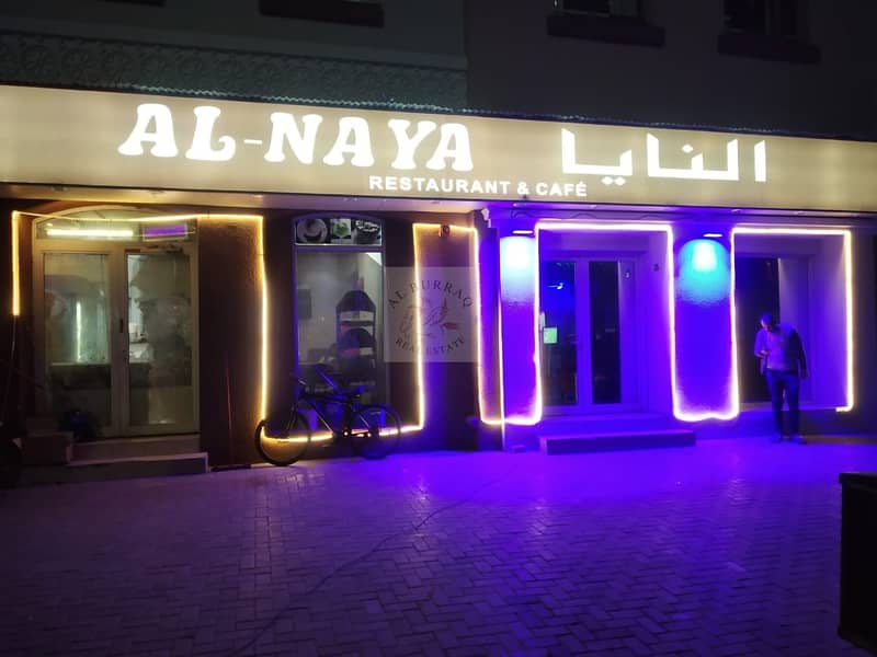 2 Running Sheesha Cafe Available For Rent