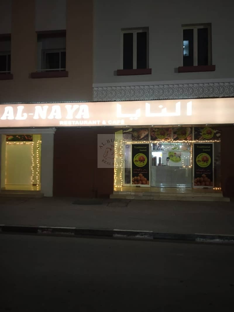 21 Running Sheesha Cafe Available For Rent