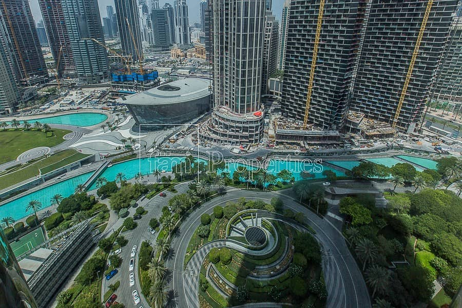 1BR Furnished Apartment | Vacant | Burj Khalifa
