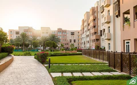 1 Bedroom Flat for Rent in Al Furjan, Dubai - 3500/- monthly, Fully Furnished One bedroom apartment for rent in Masakin C, Al Furjan