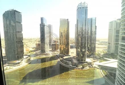 1 Bedroom Flat for Rent in Jumeirah Lake Towers (JLT), Dubai - 1 BR on High Floor with Lake View Close to Metro