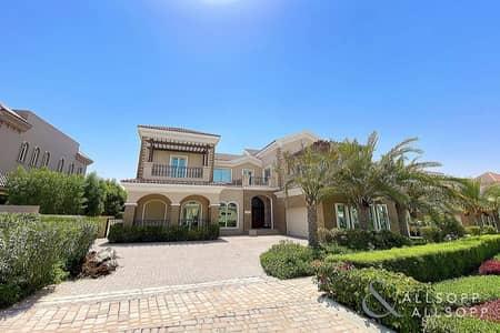 6 Bedroom Villa for Rent in Jumeirah Golf Estate, Dubai - Six Bedroom | Luxury Villa | Cinema Room