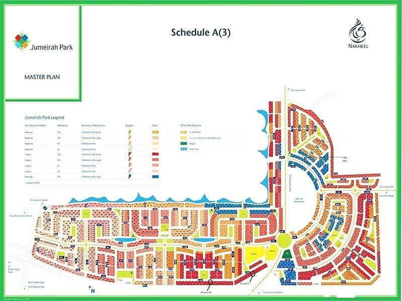 13 Jumeirah Park | Large Legacy | Exclusive Villa Plot