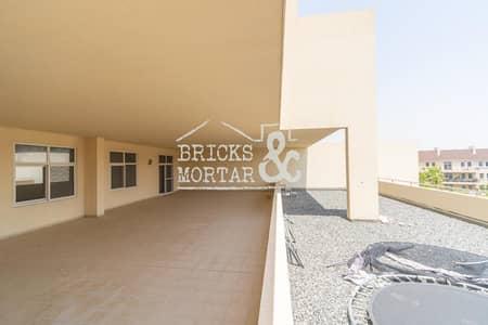 فلیٹ 3 غرف نوم للايجار في موتور سيتي، دبي - Huge Terrace | Garden View | 3239 Sqft