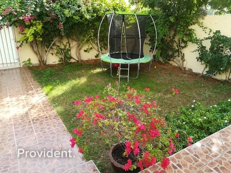 Facing Internal Road | Private Garden