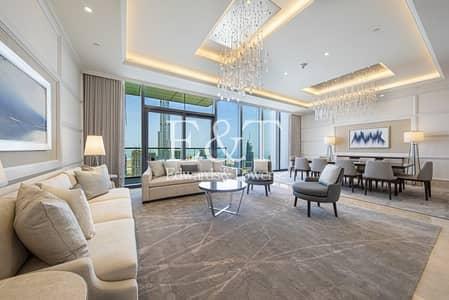 بنتهاوس 4 غرف نوم للايجار في وسط مدينة دبي، دبي - Brand New I Full Fountain View I Serviced