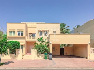 5 Bedroom Villa for Rent in The Meadows, Dubai - Meadows 2  Partial Lake View Type 11 5 Beds + Maid