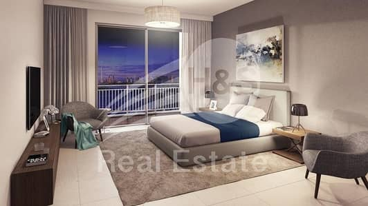 1 Bedroom Flat for Sale in The Lagoons, Dubai - High Floor I Creek Tower View I Below OP