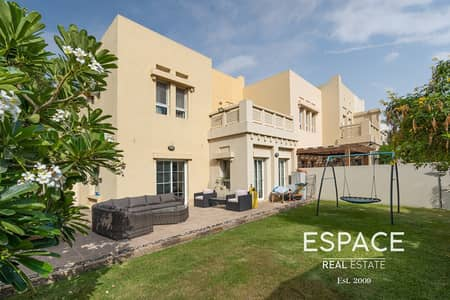 3 Bedroom Villa for Sale in The Lakes, Dubai - Exclusive | Big Plot | B End | Park/Pool