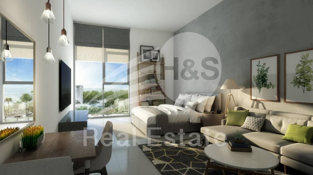 2 Brand New 2 Bedroom for Rent with Park View