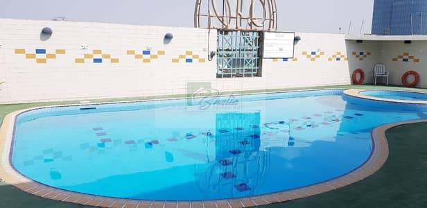 فلیٹ 1 غرفة نوم للايجار في الخالدية، أبوظبي - Truly Large 1 BR Apartment with Gym Pool & Other Amenities