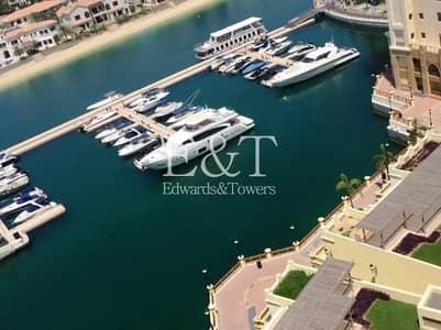 فلیٹ 2 غرفة نوم للايجار في نخلة جميرا، دبي - Managed| High Floor |2 BR C type | Sea views | PJ