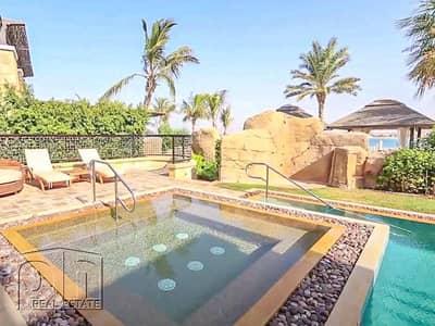 فیلا 3 غرف نوم للايجار في نخلة جميرا، دبي - Private Pool & Beach  | Furnished  | All Inclusive