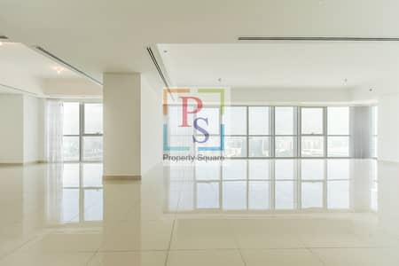 4 Bedroom Penthouse for Rent in Al Reem Island, Abu Dhabi - Marvelous & Huge 4 BR + M+ Study Penthouse.