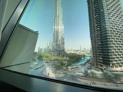 Burj Khalifa & Fountain ViewUnfurnished Apt. Low FloorVacant