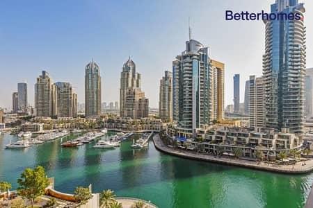 فلیٹ 2 غرفة نوم للبيع في دبي مارينا، دبي - Marina View | Low Floor | Unfurnished | Tenanted