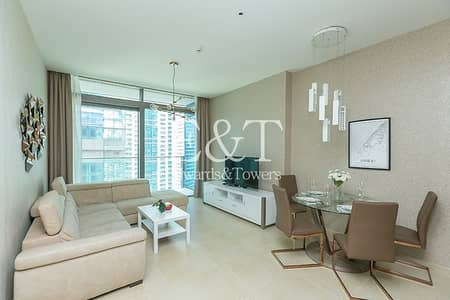 2 Bedroom Flat for Rent in Dubai Marina, Dubai - King Size 2BR|All Utility Bills Included|Furnished