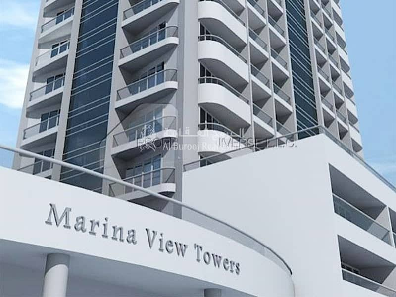 46 Gorgeous furnished studio in Marina View Tower