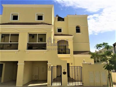 4 Bedroom Townhouse for Rent in Al Hamra Village, Ras Al Khaimah - 4 BR Bayti Townhouse | Unfurnished | Nice Pool View