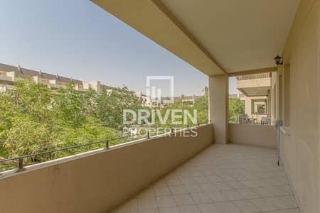 شقة 2 غرفة نوم للايجار في موتور سيتي، دبي - Garden View