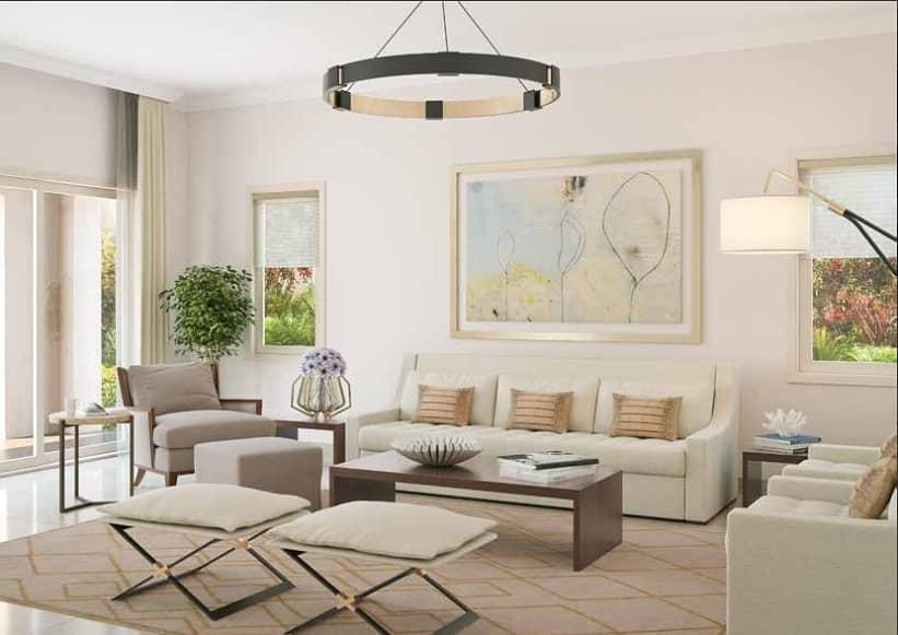 تاون هاوس في امارانتا فيلانوفا دبي لاند 3 غرف 1250000 درهم - 4644133