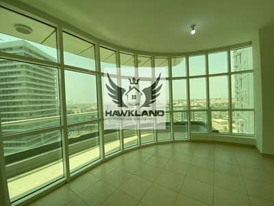 3 Bedroom Flat for Rent in Danet Abu Dhabi, Abu Dhabi - Good Location | Big Windows | Wooden Flooring