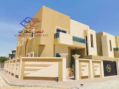 Corner villa close to Sheikh Mohammed bin Zayed Street with bank financing with convenient installments