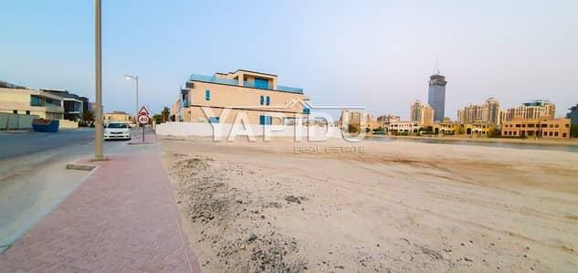 ارض سكنية  للبيع في نخلة جميرا، دبي - Signature plot Sky view Negotiable Price