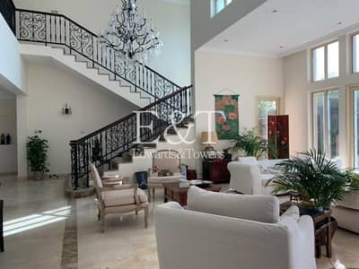 5 Bedroom Villa for Rent in Jumeirah Islands, Dubai - Upgraded | Maintenance Contract Inc | Immaculate