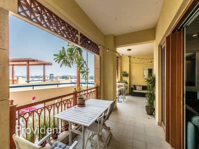 2 Bedroom Apartment for Sale in Palm Jumeirah, Dubai - Extended Terrace | VOT | Sea View | Immaculate