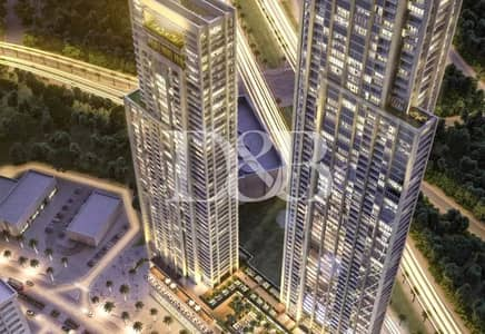 فلیٹ 3 غرف نوم للبيع في وسط مدينة دبي، دبي - Excellent Resale Deal in Forte 1 | Spacious 3 BR