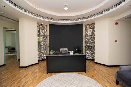 مکتب  للايجار في وسط مدينة دبي، دبي - Furnished office | Boulevard Plaza | Skyline view