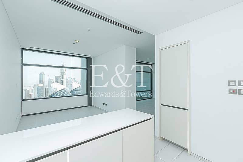 Exclusive | High Floor | DIFC and Sea Views