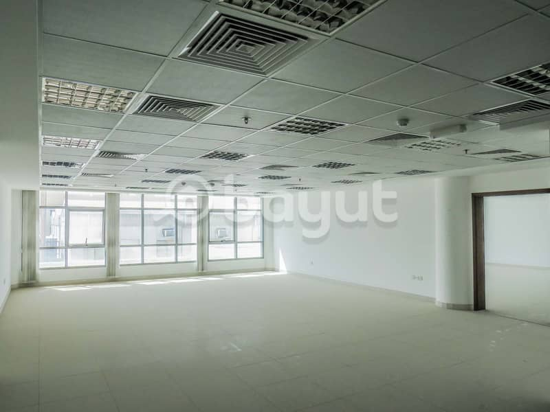 ready office in luxury commercial building with THREE months FREE