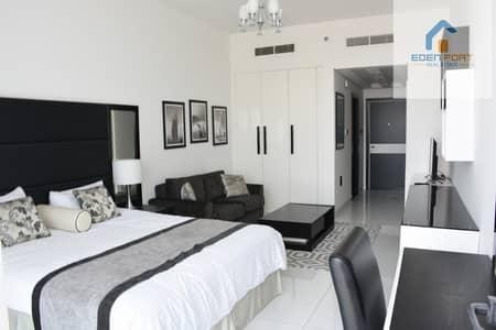 استوديو  للايجار في مدينة دبي الرياضية، دبي - Golf View | Fully High Furnished | Balcony ....