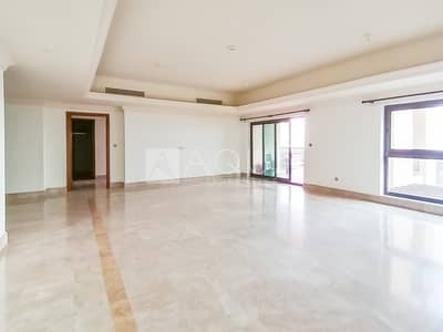 فلیٹ 4 غرف نوم للايجار في نخلة جميرا، دبي - Well Maintained | Offer Price | Fairmont