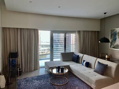 1 Bedroom Apartment for Rent in Business Bay, Dubai - Canal view | Fully Furnished | Huge Balcony