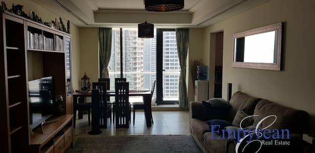 3 Bedroom Apartment for Rent in Jumeirah Lake Towers (JLT), Dubai - LAKE AND SHEIKH ZAYED VIEWS LARGE WELL MAINTAINED 3BR AVAILABLE IN BEST PRICE
