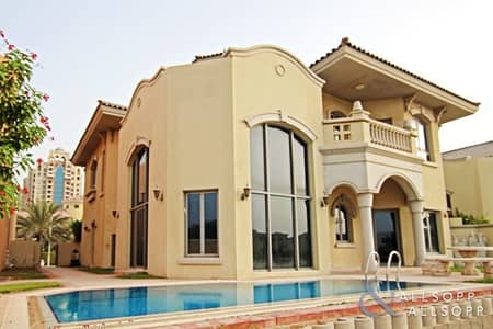 4 Bedroom Villa for Rent in Palm Jumeirah, Dubai - Upgraded | Fully Furnished | 4 Bedrooms