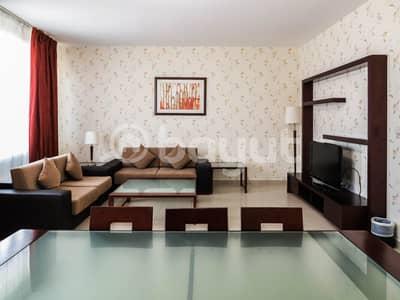 2 Bedroom Apartment for Rent in Al Najda Street, Abu Dhabi - living Room