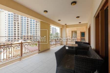 3 Bedroom Apartment for Rent in Palm Jumeirah, Dubai - Panoramic Views|Well Maintained|Great Location|