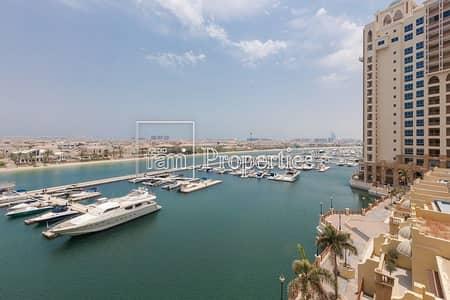 شقة 3 غرف نوم للايجار في نخلة جميرا، دبي - Panoramic Views|Well Maintained|Great Location|
