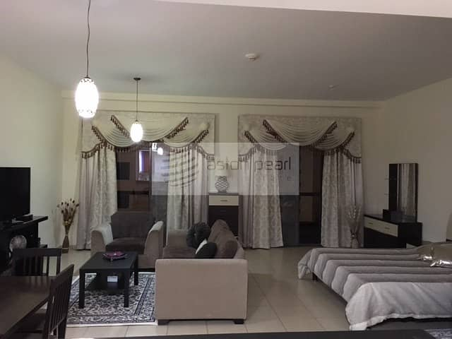 Fully Furnished   Large  Studio   Ready To Move In