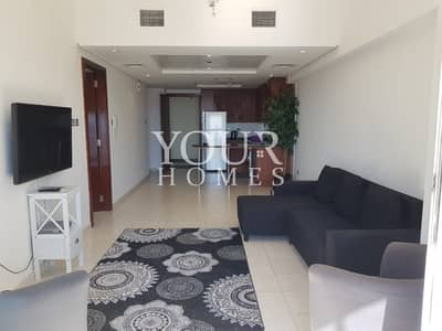 1 Bedroom Flat for Rent in Jumeirah Lake Towers (JLT), Dubai - FA |Amazing furnished flat with pool and lake view